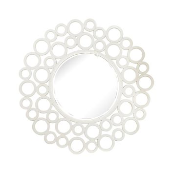 Ring Framed Mirror Gloss White