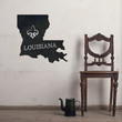 Louisiana Chalkboard State wall decal