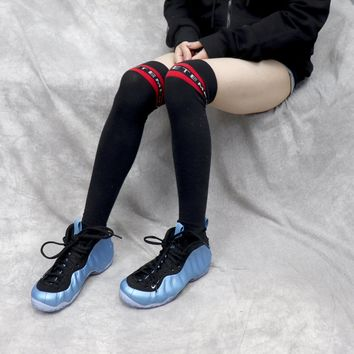 """[Free Shipping ]Nike Air Foamposite One 314996-402""""University Blue""""  Basketball Shoes"""