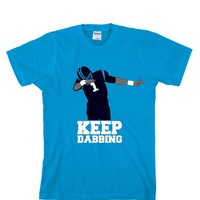 Keep Dabbing Carolina Panthers Unisex T-shirt Sports Clothing