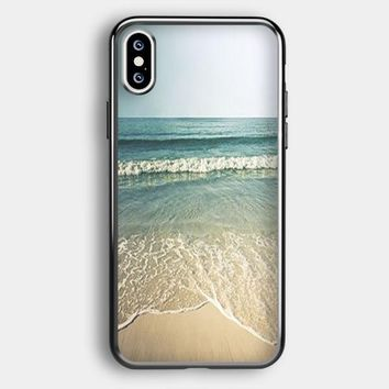 Beach Photography Vintage iPhone XS Case | Casefruits