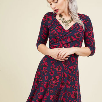 A Poppy of Color Dress | Mod Retro Vintage Dresses | ModCloth.com