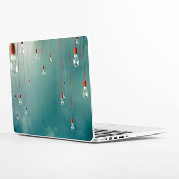 Red Edison Laptop Skin