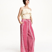 H&M Wide-cut Pants $34.99