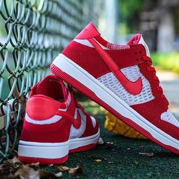 Nike Dunk Low Flyknit 917746-600 36---45