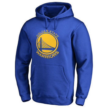 Golden State Warriors Primary Logo Pullover Hoodie - Royal