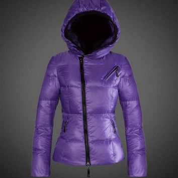 ONETOW Moncler Joinville Asymmetric Puffer Jacket