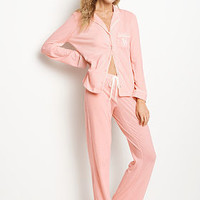 The Sleepover Knit Pajama Set - Victoria's Secret