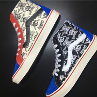 Vans Sk8-Hi 50th Pirate skeleton Running Shoes 36-44