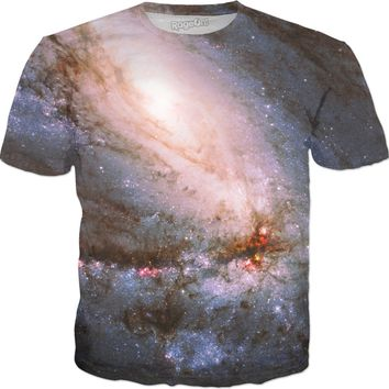 Leo | Universe Galaxy Nebula Star Clothes | Rave & Festival Shirt
