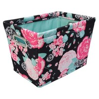 "Xhilaration 15"" Storage Tote - Set of 3 - Floral Stud Pink"