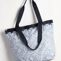 Boho Big Sky, Bandana Bag by LeSportsac from ModCloth