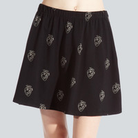 Hearts All-Over Skirt