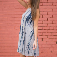 Surf's Up Dress, Navy