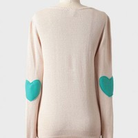 sweetest love sweater in beige at ShopRuche.com