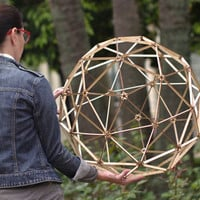 Domenico nano - Desktop Geodesic Sphere Kit