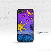 Sun Moon & Stars Case Cover for Apple iPhone 7 6s 6 SE 5s 5 5c 4s 4 Plus & iPod Touch