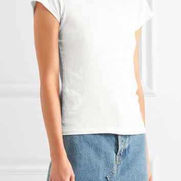 RE/DONE - + Hanes 1960s cotton-jersey T-shirt