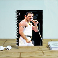 Queen Freddie Mercury Photo Notebook Auroid