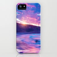 wish you were here III iPhone & iPod Case by Viviana González