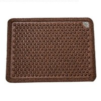 Dr. Doormat- An Antimicrobial Treated Doormat 24-Inch by 36-Inch, Chocolate Brown