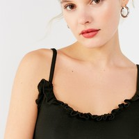 Truly Madly Deeply Emily Ruffle Cami | Urban Outfitters