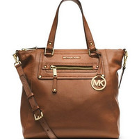 Michael Michael Kors Large Gilmore Leather Tote