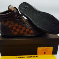 Men's Louis Vuitton Dramier Leather Shoes