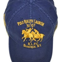Polo Ralph Lauren Men Adjustable Pony Logo Hat