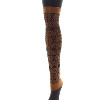 Flake Zone Sweater Tights/Legwarmer