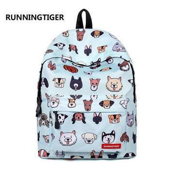 Boys bookbag trendy Women Cartoon Printing Large Capacity Polyester Laptop Backpack Lovely Teenager Schoolbag Travel Bag  Boy Daypack Mochila AT_51_3