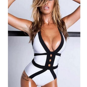 High Quality Comfortable Summer Sexy Hollow Out Ladies Hot Sale Swimwear [9624664007]
