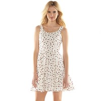 Disney's Minnie Mouse a Collection by LC Lauren Conrad Open-Back Print Dress
