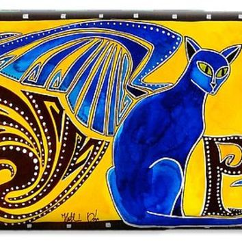 Winged Feline - Cat Art With Letter P By Dora Hathazi Mendes IPhone 6s Case
