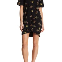 RD Style | Floral Knot Tee Dress | Nordstrom Rack