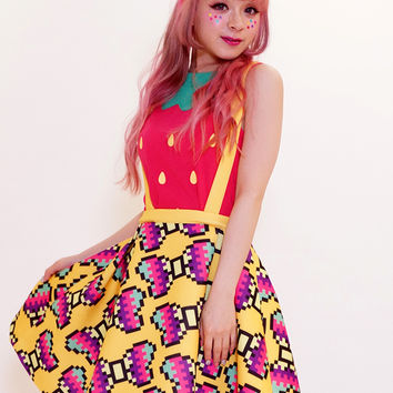 Strawberry tops - Tokyo kawaii galaxxxy- international online store