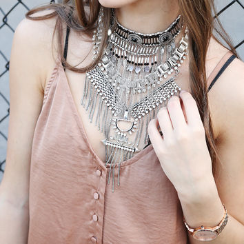Dylan Statement Necklace