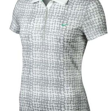Nike Ladies Golf Shirt Print Polo
