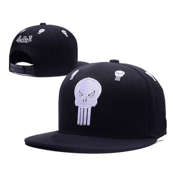 Trendy Winter Jacket Star Wars Marvel Deadpool Captain America Punisher Superman Spider-Man Baseball Cap Men Women Fashion Hip Hop Caps Snapback hats AT_92_12