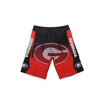 Georgia Bulldogs Mens Board Shorts Swimsuit Swim Trunks - Size 32