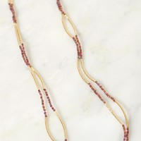 Bold & Bead-iful Necklace Red
