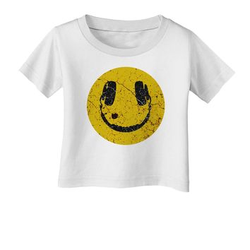 EDM Smiley Face Infant T-Shirt by TooLoud