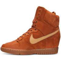 Nike Women's Dunk Sky Hi 2.0 Sneakerboot from Finish Line | macys.com