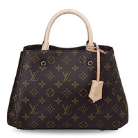 Louis Vuitton Montaigne BB Monogram Handbag Article: M410555