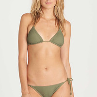 Billabong - Meshin With You Triangle Top | Seagrass