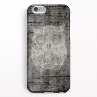 iPhone 6 Case, iPhone 6 Plus Case, iPhone 5S Case, iPhone 5 Case, iPhone 5C Case, iPhone 4S Case - Owl on the wall
