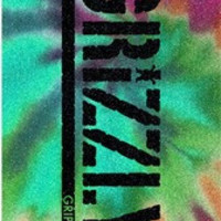 Grizzly Single Sheet Stamp Reverse Tie Dye Grip