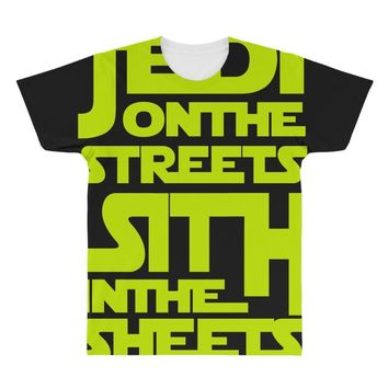 Jedi On The Streets Sith In The Sheets All Over Men's T-shirt