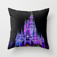 Walt Disney World Christmas Lights Throw Pillow by xjen94 | Society6