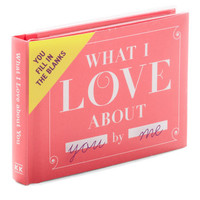 ModCloth What I Love About You Journal